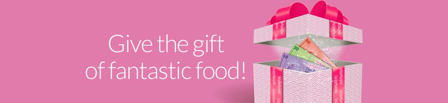 gift box banner
